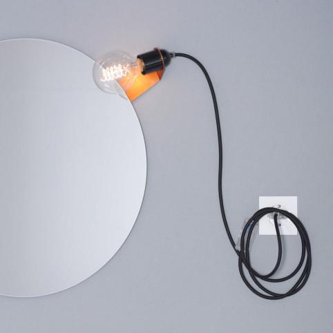 Mirror clip lamp