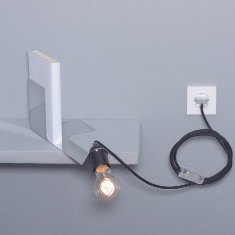 Bookend lamp