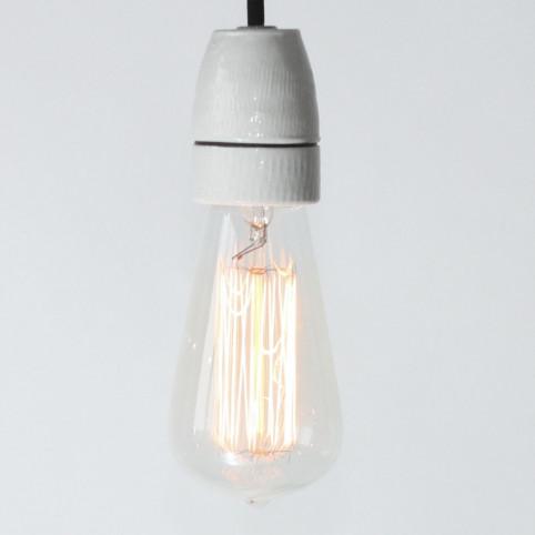 Edison-Rustika, Dekodraht, E27, 60W