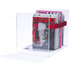 Magazine rack bendix / red
