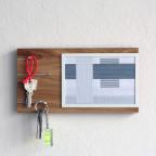 NOVA key holder with picture frame