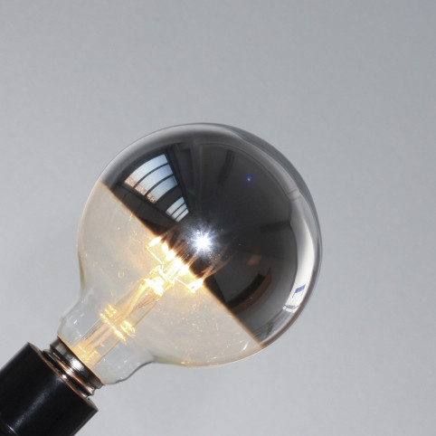 toshi LED GlobeØ95, klar, E27, 4W
