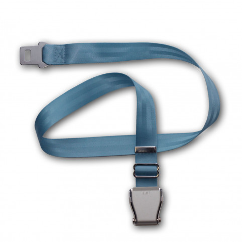 Airplaine belt bendix - light blue