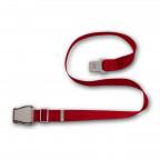 Airplaine belt bendix - red