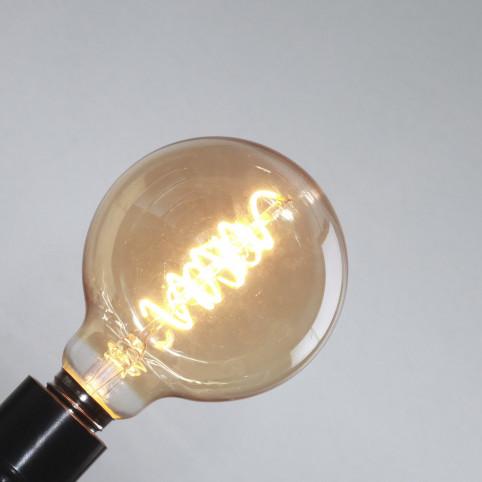 toshi LED Filament GlobeØ95, klar, E27, 5W
