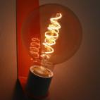 LED globe, opal, E27, 40W