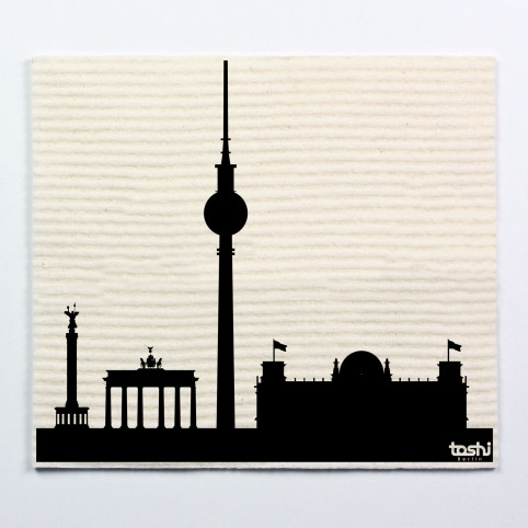 Sponge cloth furbi: Skyline Berlin