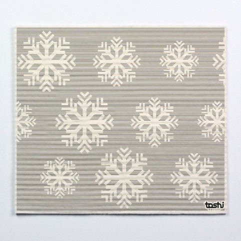 Sponge cloth furbi: Snow flake