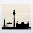 """4er Schwammtuchset furbi: """"Berlin 1"""""""