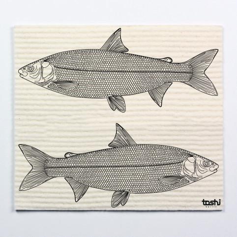 Schwammtuch furbi: Fische