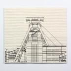 Sponge cloth furbi: Zeche Zollverein