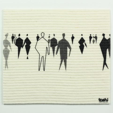 sponge cloth furbi: People