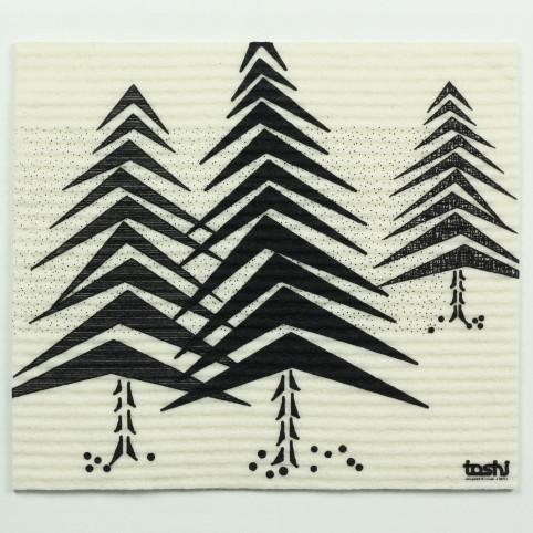 sponge cloth furbi: Fir trees