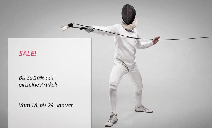 Sale im Januar 2018