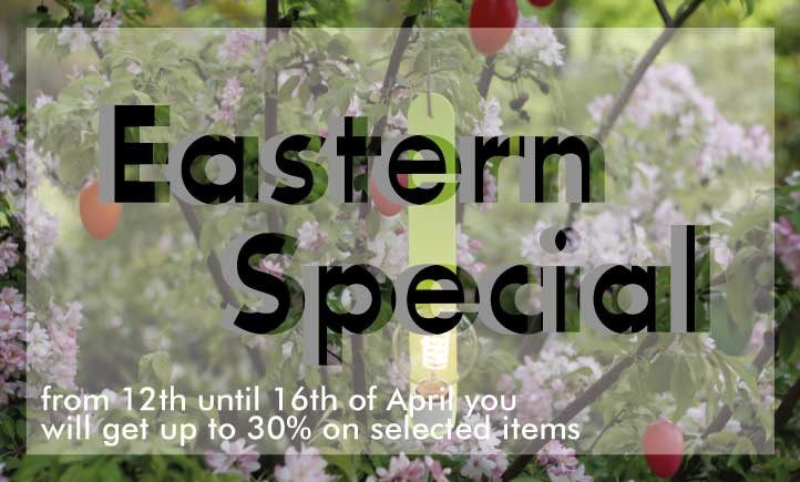Eastern Special - up to 30% on selected items