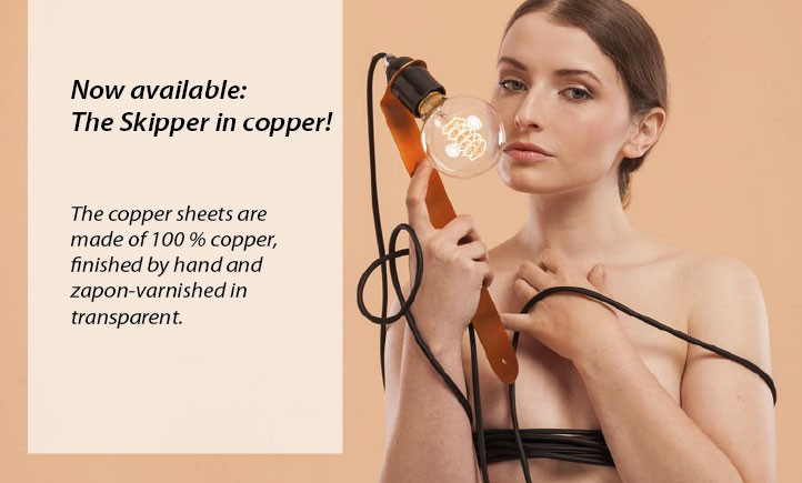 Skipper in copper available